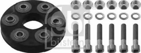 Febi Bilstein 01743 - Эластичная муфта карданного вала car-mod.com