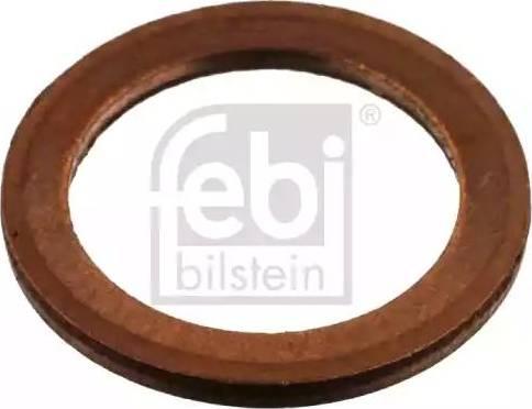 Febi Bilstein 04054 - Уплотнительное кольцо, резьбовая пробка маслосливного отверстия car-mod.com