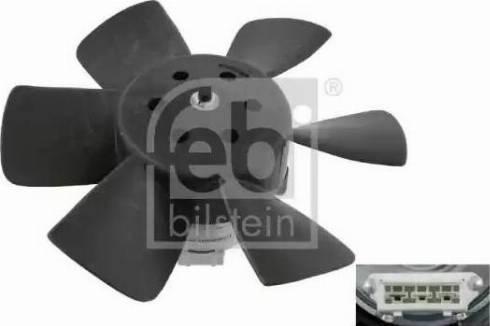 Febi Bilstein 06989 - Вентилятор, охлаждение двигателя car-mod.com