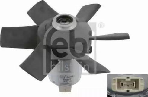Febi Bilstein 06997 - Вентилятор, охлаждение двигателя car-mod.com