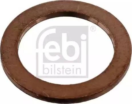 Febi Bilstein 07215 - Уплотнительное кольцо, резьбовая пробка маслосливного отверстия car-mod.com