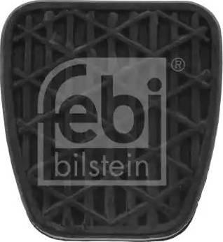 Febi Bilstein 07532 - Накладка на педаль, педаль сцепления car-mod.com