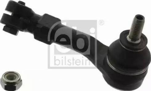 Febi Bilstein 09682 - Наконечник рульової тяги, кульовий шарнір autocars.com.ua