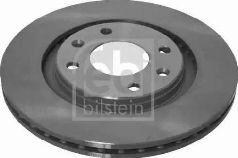 Febi Bilstein 10321 - Тормозной диск autodnr.net