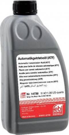Febi Bilstein 14738 - Масло автоматической коробки передач autodnr.net