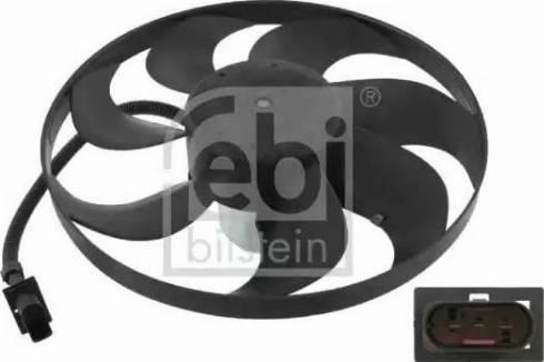Febi Bilstein 14742 - Вентилятор, охлаждение двигателя car-mod.com