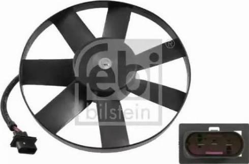 Febi Bilstein 14748 - Вентилятор, охлаждение двигателя car-mod.com