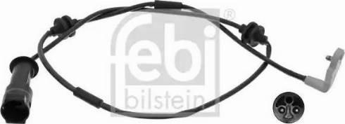 Febi Bilstein 17204 - Сигнализатор, износ тормозных колодок autodnr.net