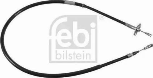 Febi Bilstein 21783 - Трос, стояночная тормозная система avtokuzovplus.com.ua