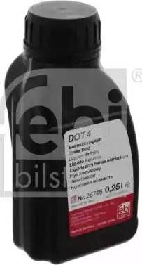 Febi Bilstein 26746 - Тормозная жидкость autodnr.net