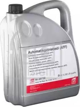 Febi Bilstein 29738 - Масло автоматической коробки передач autodnr.net