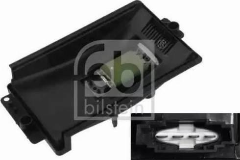 Febi Bilstein 33154 - Блок управления, отопление / вентиляция car-mod.com