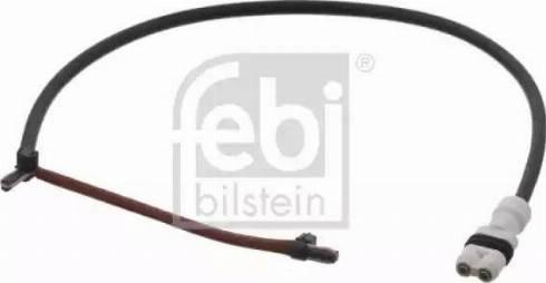 Febi Bilstein 33413 - Сигнализатор, износ тормозных колодок autodnr.net