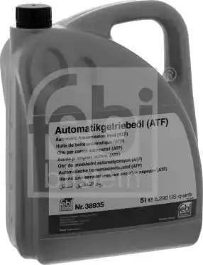 Febi Bilstein 38935 - Масло автоматической коробки передач autodnr.net