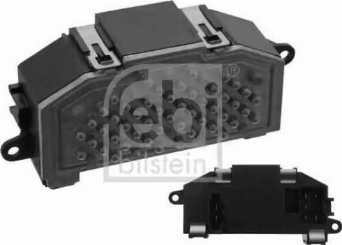 Febi Bilstein 39753 - Блок управления, отопление / вентиляция autodnr.net