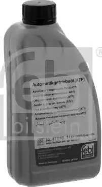 Febi Bilstein 47716 - Масло автоматической коробки передач autodnr.net