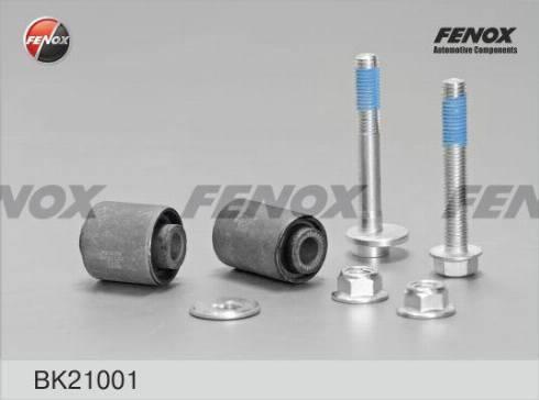 Fenox BK21001 - Сайлентблок, рычаг подвески колеса car-mod.com