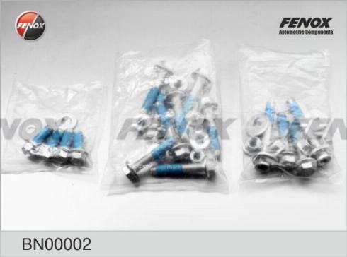 Fenox BN00002 - Болт регулировки развала колёс car-mod.com