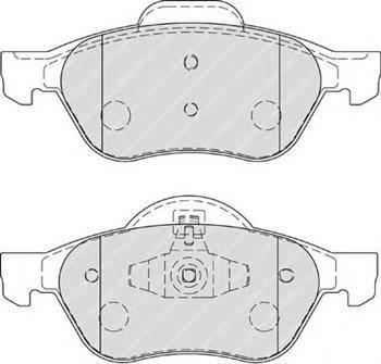 Fenox BP43047 - Тормозные колодки, дисковые car-mod.com
