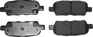 Fenox BP43062 - Комплект тормозных колодок, дисковый тормоз autodnr.net