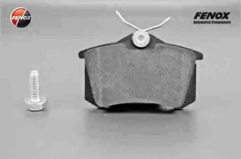 Fenox BP43088 - Комплект тормозных колодок, дисковый тормоз autodnr.net
