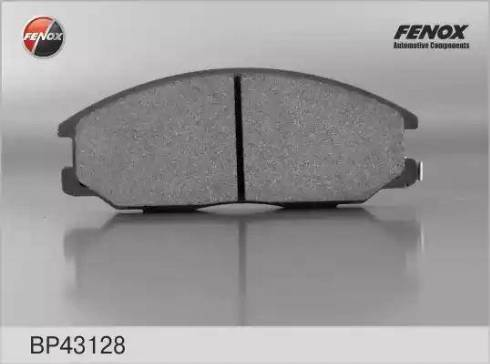 Fenox BP43128 - Комплект тормозных колодок, дисковый тормоз autodnr.net