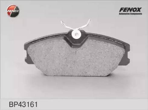 Fenox BP43161 - Тормозные колодки, дисковые car-mod.com