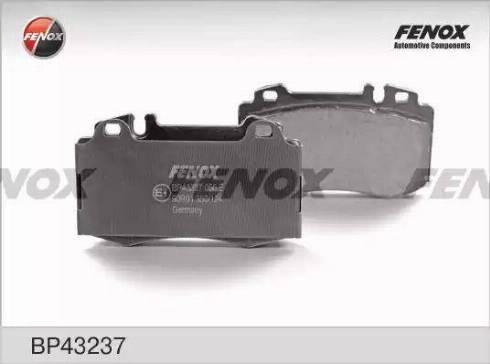 Fenox BP43237 - Тормозные колодки, дисковые car-mod.com