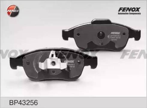 Fenox BP43256 - Тормозные колодки, дисковые car-mod.com