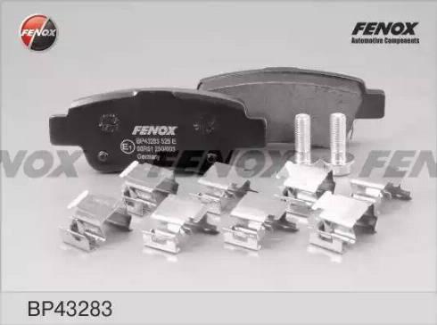 Fenox BP43283 - Тормозные колодки, дисковые car-mod.com