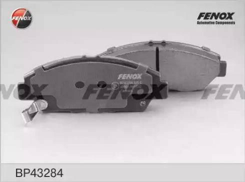 Fenox BP43284 - Тормозные колодки, дисковые car-mod.com