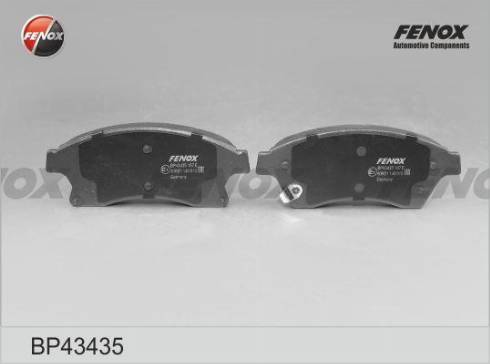 Fenox BP43435 - Тормозные колодки, дисковый тормоз avtokuzovplus.com.ua