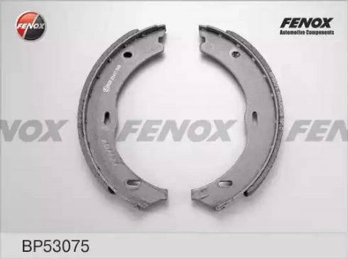 Fenox BP53075 - Комплект тормозных колодок autodnr.net