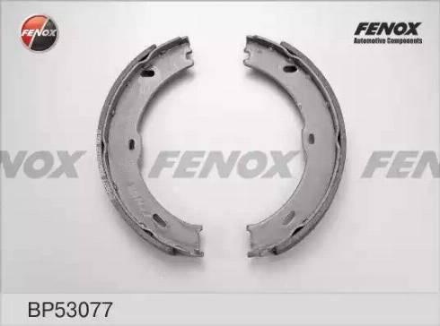 Fenox BP53077 - Комплект тормозных колодок autodnr.net