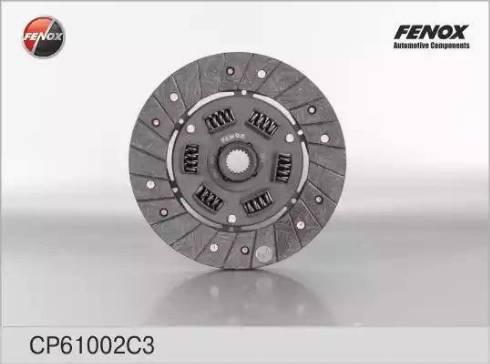 Fenox CP61002C3 - Диск сцепления autodnr.net