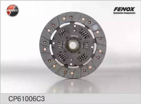 Fenox CP61006C3 - Диск сцепления autodnr.net