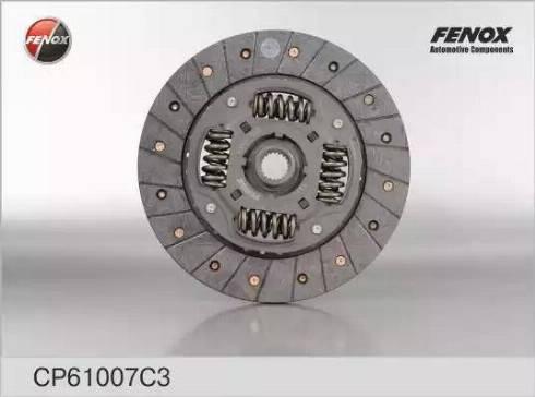 Fenox cp61007c3 - Диск сцепления autodnr.net