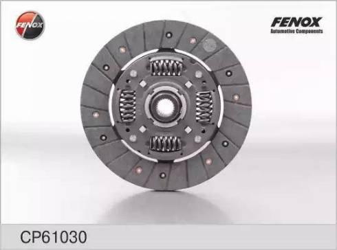 Fenox cp61030 - Диск сцепления autodnr.net