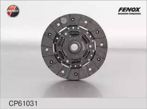 Fenox cp61031 - Диск сцепления autodnr.net