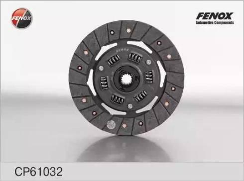 Fenox cp61032 - Диск сцепления autodnr.net
