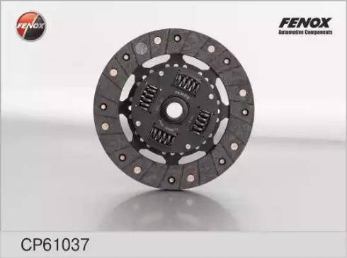 Fenox cp61037 - Диск сцепления autodnr.net