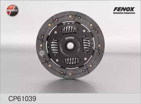 Fenox cp61039 - Диск сцепления autodnr.net