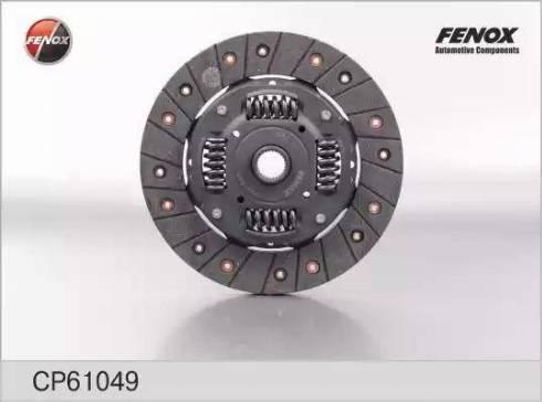 Fenox cp61049 - Диск сцепления autodnr.net