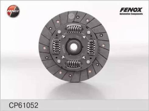 Fenox cp61052 - Диск сцепления autodnr.net