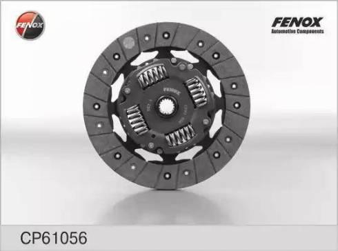 Fenox CP61056 - Диск сцепления autodnr.net