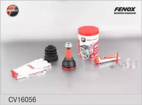 Fenox CV16056 - Šarnīru komplekts, Piedziņas vārpsta car-mod.com