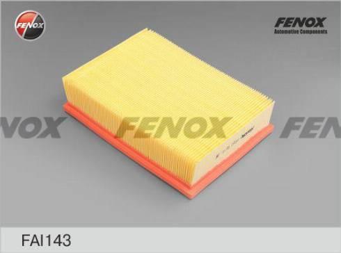 Fenox FAI143 - Воздушный фильтр autodnr.net