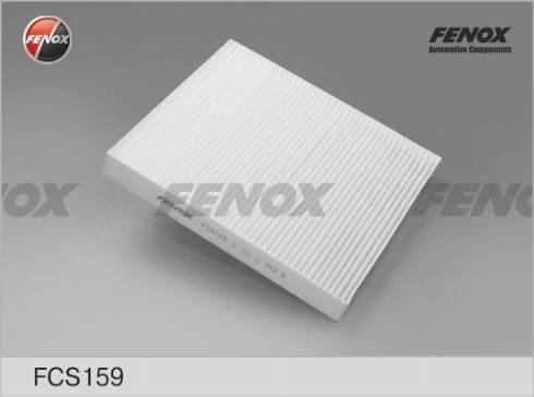 Fenox FCS159 - Фильтр салонный autodnr.net