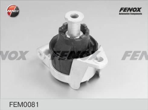 Fenox FEM0081 - Подвеска  двигателя car-mod.com