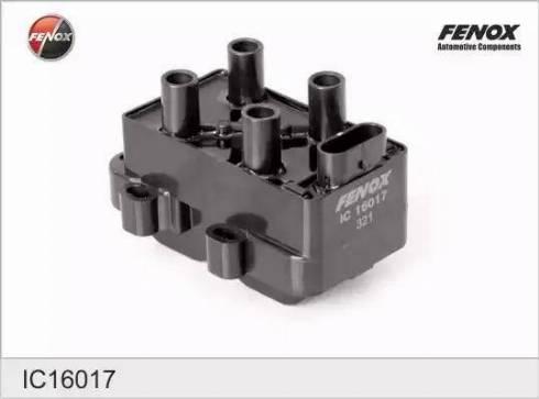 Fenox IC16017 - Катушка зажигания avtokuzovplus.com.ua